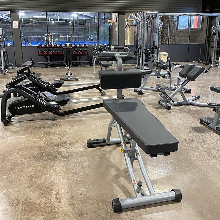 Salle de musculation au Versoud